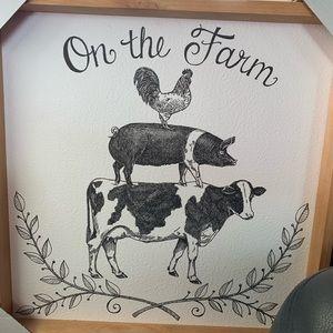 Other - Farmhouse print